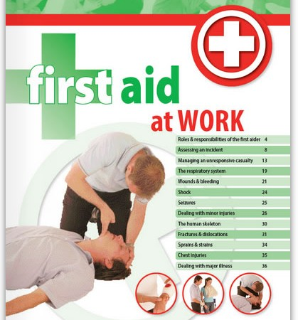 First Aid at Work Handbook from Highfield