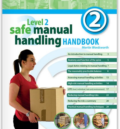 Level 2 Safe Manual Handling Handbook from Highfield