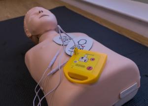 Automated External Defibrillator practice